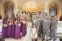 Image result for grey tux with purple for 6 month old child