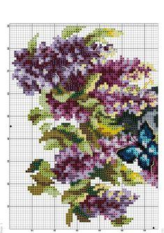 Cross Stitch House, Cute Cross Stitch, Cross Stitch Bird, Cross Stitch Charts, Counted Cross Stitch Patterns, Cross Stitching, Cross Stitch Embroidery, Butterfly Cross Stitch, Cross Stitch Flowers