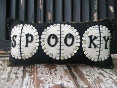 spooky pillow