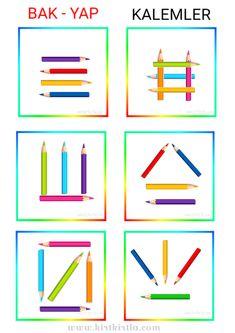 Motor Skills Activities, Preschool Learning Activities, Preschool Printables, Kindergarten Activities, House Drawing For Kids, Visual Perception Activities, Coding For Kids, School Posters, Art N Craft
