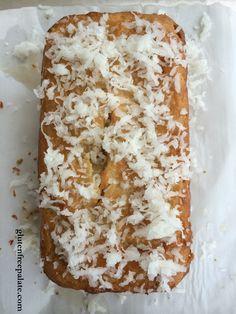 Gluten Free Vanilla Glazed Coconut Pound Cake