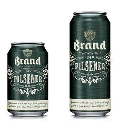 Brand Bier's new-look cans