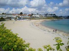 Gyllyngvase Beach Falmouth Cornwall, UK