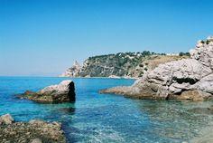 Spiaggia Di Grotticelle, Capo Vaticano.Calabria, Italy. September, 2014.