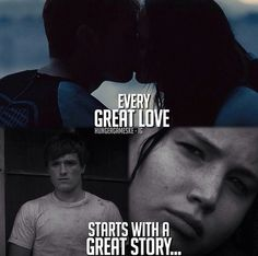 The Hunger Games Mocking Jay Part 1| Serafini Amelia| Every great Love Starts With A Great Story....