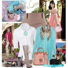 """Fashion-colores pastel"" by bilbomex on Polyvore Mega Fashion, Polyvore, Pastel Colours"