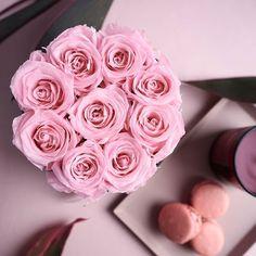 Unsere romantisch verträumte Flowerbox in rosa sieht überall toll aus und hält jahrelang