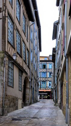 Limoges France - where I worked as an English teacher for the Chamber of Commerce and Industry