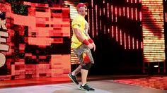 Raw 11/24/14: John Cena & Dolph Ziggler vs Seth Rollins, Jamie Noble & Joey Mercury - WWE App Vote Match