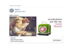 Spot facebook per Festa della mamma. #socialmediamarketing #adv #directmarketing #GRAFFIOBrand
