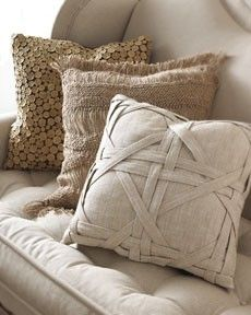 naturals, pretty pillows