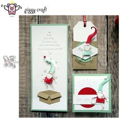 Gifts Box DIY Stencils DIY Cutting Dies Scrapbooking Tagebuch Stanzschablone Neu