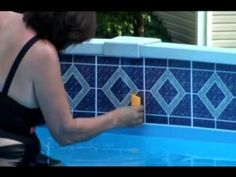 1000 Images About Pool Borders On Pinterest Swimming Pools Adhesive Tiles And Freedom