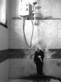 AP12 Room Service graffiti - Hitchcock/Psycho