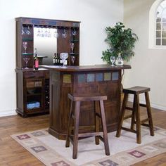 New rustic bar from Sunny Designs!