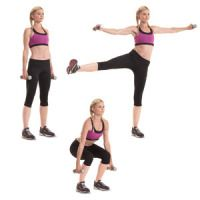 Dumb bell Stability ball workout