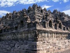 largest Buddhist monument in the world. Located on the Indonesian island of Java, 40 km (25mi) northwest of Yogyakarta, Borobudur was built around 750 AD. The magnificent temple is a three-dimensional mandala (diagram of the universe) and a visual representation of Buddhist teachings.