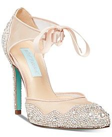 Iris Pumps  #fashion #fashionista #fashionshoes #macys #shoes #womensshoes #fashiontrends #fashionwomen #fallfashion #fallstyle #wedding #datenight  #Sponsored, #Promotion, #PaidAd, #ad, #affiliatelink Pumps, Pump Shoes, Shoe Boots, Shoes Heels, Blue By Betsey Johnson, Wedding Boots, Rhinestone Heels, Cream And Gold, Stiletto Heels