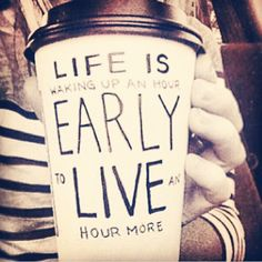 Let's all live an hour longer this weekend! #motivation #Instagram