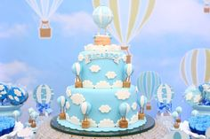 Ideas birthday banner boy shower ideas for 2019 Baby Shower Cakes For Boys, Baby Shower Decorations For Boys, Baby Shower Themes, Baby Boy Shower, Shower Ideas, Baby Birthday Cakes, Birthday Parties, Balloon Cake, Air Balloon
