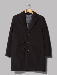 A Kind Of Guise Gorgan Coat (Black Navy)