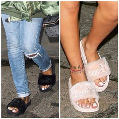 $70!! Available in black, pink, and white!! visit: https://juswynning.com/collections/footwear