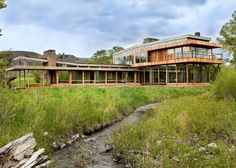 Big Timber Riverside By Hughes Umbanhowar Architects (7)