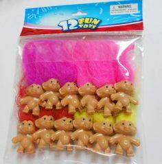 100 Mini Trolls!! Bolsa Fiesta Juguetes de recaudación de fondos! Lucky Dip