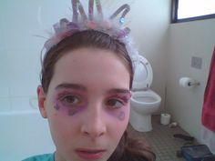 Fairy princess make-up