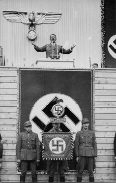 Adolf Hitler persuaded many Germans with his speeches. His great speaking ability, influenced the minds of many people to follow his evil ways.