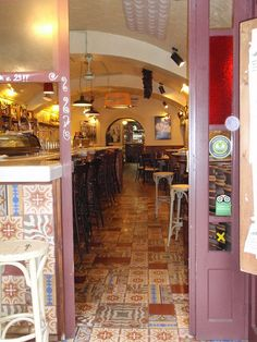 When in Barcelona walk right past the tourist traps near the (infinitely boring) Ramblas. We ate at this brilliant little Tapas bar in Born (nearest metro is Jaume). Moderately priced but such depth of flavour and texture. Fills up quickly with locals in the know so book if possible.