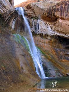 Lower Calf Creek Falls. #travel  #hiking #Creekfalls #UtahCanyon http://bearfoottheory.com