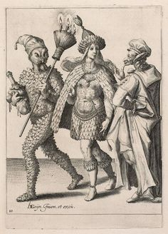 The Masquerade - Attributed to Zacharias Dolendo - Dutch - 1595-1596