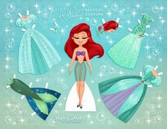 Need a fun craft for your princesses? Print these Disney-inspired paper dolls for free!