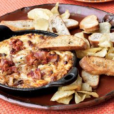Serve this addictive onion dip with a sliced baguette or apples, or thick-cut potato chips.