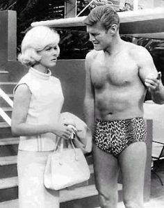 Chuck Connors and Doris Day in Move Over, Darling....one of my most favorite movies!