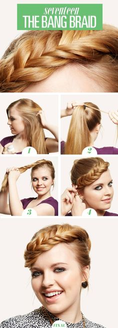 The Coolest New Way to Wear a Halo Braid