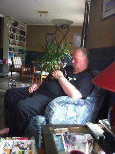 Mopsie en Rick tukkie doen juli 2016