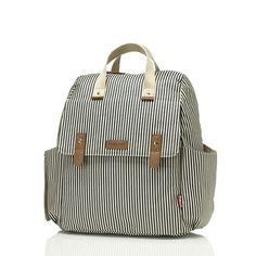 Robyn Diaper Bag - Navy Stripe by Babymel