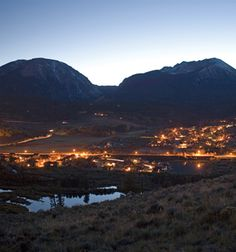 we've seen this beautiful sight and can't wait to go back--- Silverthorne, Colorado