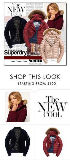 """""""The Cover Up – Jackets by Superdry: Contest Entry"""" by polybaby ❤ liked on Polyvore featuring Superdry, Fuji and MySuperdry"""
