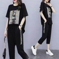 Girls Fashion Clothes, Fashion Outfits, Clothes For Women, Summer Clothing, Cute Casual Outfits, Casual Wear, Sport Outfits, Summer Outfits, Plus Size Tracksuit