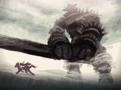 shadow of the colossus by Langewong on DeviantArt Best Games, Fun Games, Video Game Art, Video Games, Shadow Of The Colossus, Deviantart, Fantasy, History, Demons