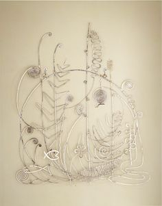 Alexander Calder  Silver Bed Head 1946 Kinetic Art