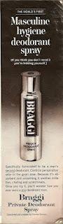 The 'world's first' sweaty balls spray (1971 ad)