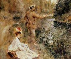 ルノアール 1874 The fisherman