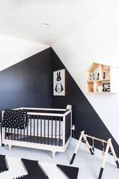 44 Ideas For Baby Bedroom Black Apartment Therapy White Bedroom Furniture, Bedroom Black, Baby Bedroom, Baby Boy Rooms, Bedroom Sets, Kids Bedroom, Furniture Chairs, Cheap Furniture, Bedrooms