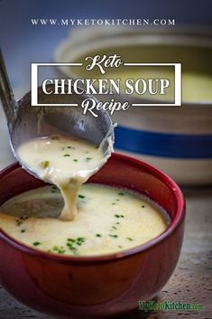 keto chicken soup recipe