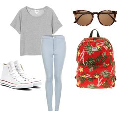 """""""back to school"""" by morehouse-susan on Polyvore"""