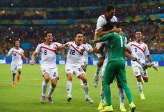 Octavos de Final (Costa Rica 1 (5) - Grecia 1 (3))